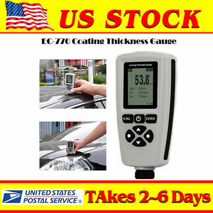 Paint Coating Thickness Meter Tester Gauge Detection For Industries Universal