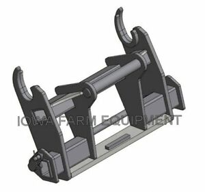Adapter Gehl Dynattach To Manitou Mlt523 Mlt625 Mlt840 Quick Attach Systems