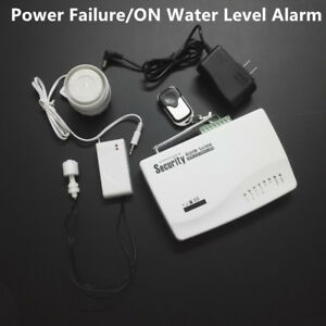 Water Level Alarm Power Off Failure Gsm Alarm System Call Inform For Water Tank