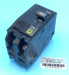 New Circuit Breaker Square D Qo2100 100 Amp 2 Pole 120 240v Plug in