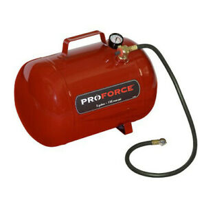 Proforce Ft5 Npt 5 gallon Horizontal Portable Air Tank With Handle New