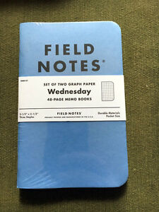 Field Notes Wednesday Fnw 01 Sealed 2 pack Was Available For Sale Only One Day