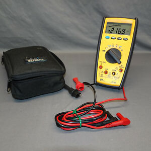 Ideal 61 481 Digital Multimeter Commercial Grade Platinumpro 480 Series