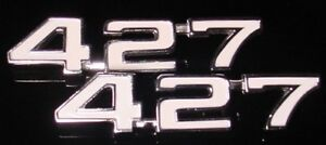 Chevy 427 Emblems 69 70 71 72 73 74 Nova Camaro
