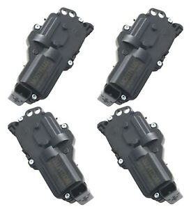 2 Left 2 Right Side Power Door Lock Actuators For Ford Explorer Expedition