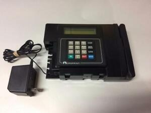 Acroprint Time Tracking Data Collection Terminal W Power Supply