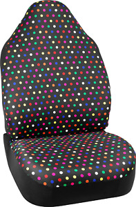 New Universal Rainbow Polka Dot Seat Cover