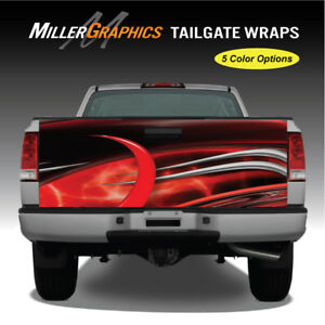 Truck Graphic 105 Tailgate Wrap Vinyl Decal 2 Sizes 5 Color Options