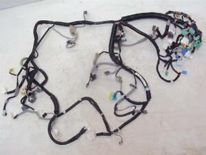 2014 Honda Accord Instrument Dashboard Dash Board Wire Harness Wiring Mt Ex 4dr