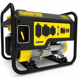 Champion 100406 3550 Watt Portable Generator W Rv Outlet