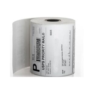 20 Rolls 250 4 x6 Zebra Eltron Direct Thermal Printer Shipping Labels Packing