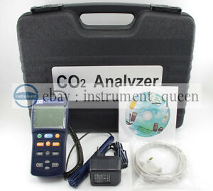 Tes1370 Ndir Co2 Analyzer Temperature Humidity Meter new Tes 1370