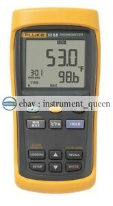 Fluke 53 2b Single Input Digital Thermometer With Data Logging F53 iib new