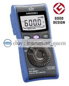 Hioki Dt4221 Digital Multimeter Pocket sized Dmm brand New