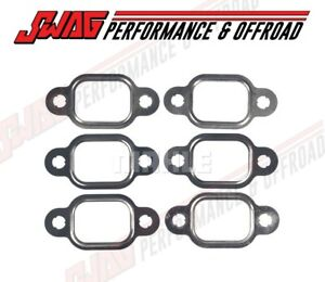 Mahle Exhaust Manifold Gasket Set For 90 98 Dodge Cummins 12v 12 Valve Diesel