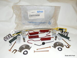 Nos Mopar 1966 1996 Plymouth Dodge With 11 Rear Brake Hardware Package