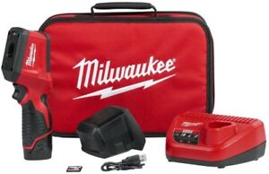 Milwaukee M12 12 Volt Lithium ion Cordless Thermal Imager Temperature Meter Kit