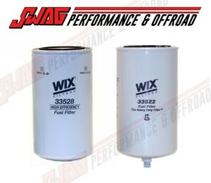 Wix Fass Titanium Series Replacement Filters For Powerstroke Cummins Duramax