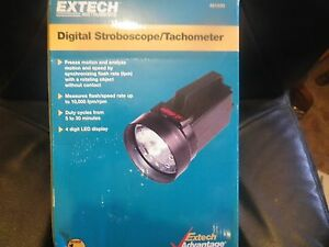Extech 461830 Stroboscope 110 Vac Brand New In Box