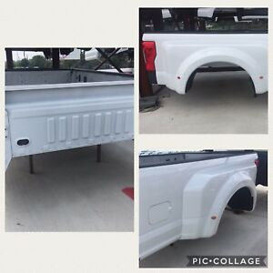 New White Ford F250 F350 Dually Bed 2017 2018 With Tail Lights