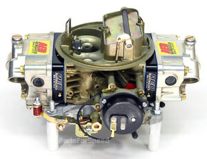 Aed 650ho Holley Double Pumper Test Carb Street Race Billet Electric Choke Bk