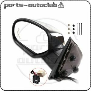 Driver Side Power Fold Memory Heated Chrome Signal Mirror For 07 14 Chevy Gmc