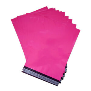4000 9x12 Hot Pink Poly Mailer Plastic Shipping Mailing Bag Envelopes Polybag