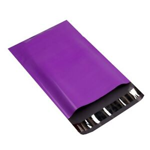 4000 9x12 Purple Poly Mailer Plastic Shipping Mailing Bag Envelopes Polybag