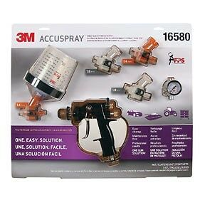 3m 16580 Accuspray Spray Gun System With Pps