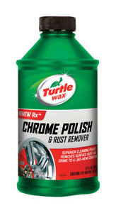 6 Bottles Turtle Wax T 280ra Chrome Polish Rust Remover 12 Oz