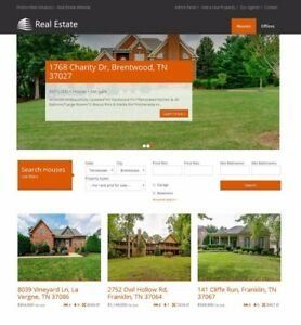 Website For Real Estate Agents And Companies 1 Year Everything Included