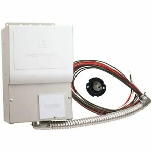 Reliance Controls Pro tran 2 15 amp 120v 4 circuit Indoor Transfer Switch