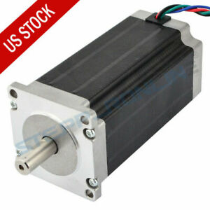 Us Ship Nema 23 Stepper Motor 1 8deg 2 4nm 340oz in 1 8a 57x57x104mm 4 Wires