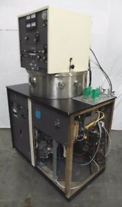C143401 Mrc Materials Research Corp 8671 Rf Sputtering Vacuum Chamber
