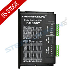 Us Ship Digital Stepper Driver 2 4 7 2a 18 80vac Or 36 110vdc For Nema 34 Motor