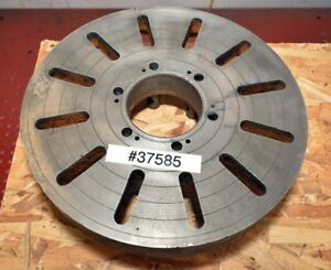 15 Inch Cast Iron Face Plate D1 6 Mount inv 37585