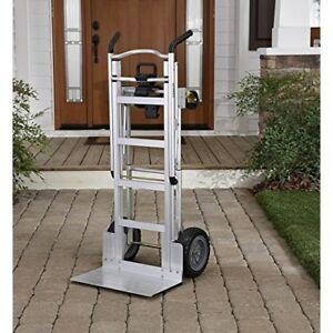 Heavy Duty Moving Dolly Furniture Convertible Hand Truck Aluminum Appliance Cart