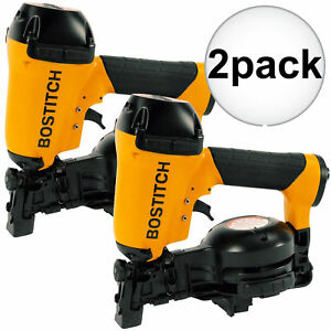 Bostitch Rn46 1 2pk 3 4 To 1 3 4 15 Deg Coil Roofing Nailer New