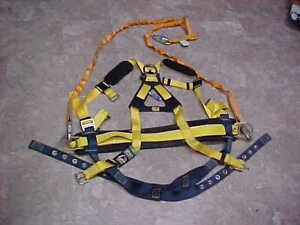 Dbi Sala Full Body Safety System Large Tree Tower Construction Pole Climbing