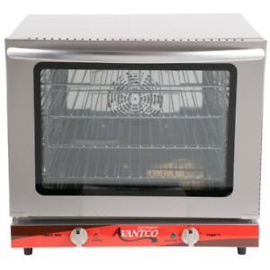 New Commercial Avantco 1 2 Size Electric Countertop Convection Oven Food Shop