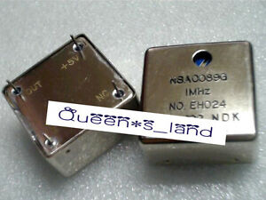 1 used Ndk Nsa0089g 1 Mhz 5v Adjustable Ocxo Crystal Oscillator
