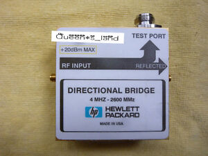 1 used Hp agilent 4mhz 2600mmz 20dbm Directional Bridge