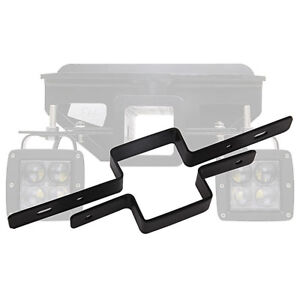 2 Tow Hitch Receiver Light Lamp Mounting Bracket Backup Reverse Truck Trailer