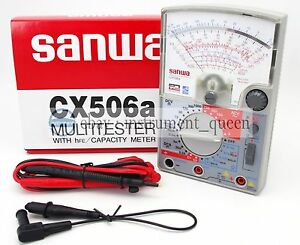 Linear Multitester Multimeters Japan Cx 506a Sanwa Cx506a New