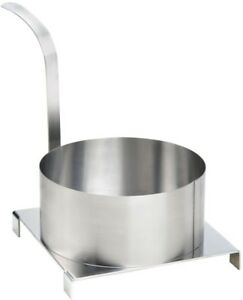 Funnel Cake Mold Ring 8 Stainless Steel Concession Stand Party Fair Commercial
