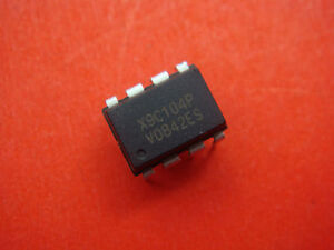 10 Pcs X9c104p X9c104 Dip 8 Digital Potentiometer Ic