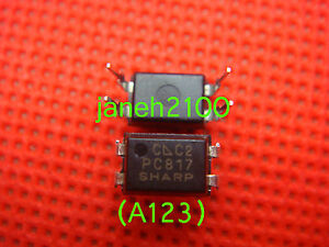 1000p Original Sharp Pc817c Pc817 El817 817c Optocoupler Dip 4
