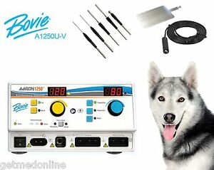 New Bovie A1250u Electrosurgical Generator With Veterinary Package A1250u v