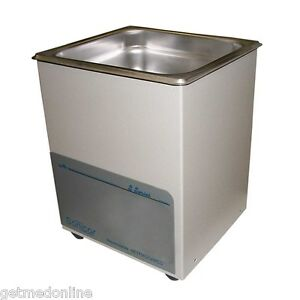 New Sonicor Stainless Steel Tabletop Ultrasonic Cleaner 0 5 Gal Capacity S 50