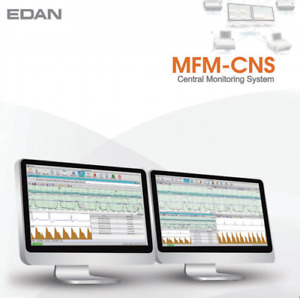 New Edan Mfm cns Central Fetal Maternal Monitoring System Software